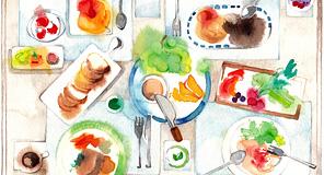 料理のイラスト特集