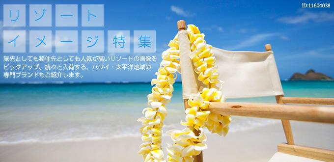 『 リゾートイメージ特集 』 旅先としても移住先としても人気が高いリゾートの画像をピックアップ。続々と入荷する、ハワイ・太平洋地域の専門ブランドもご紹介します。