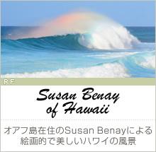 【Susan Benay of Hawaii】オアフ島在住のSusan Benayによる、絵画的で美しいハワイの風景(RF)