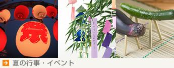 【夏の行事・イベント】