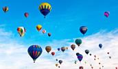 58117483(熱気球)とその連想画像