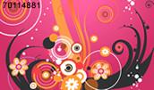 70114881(Flower pattern)とその連想画像