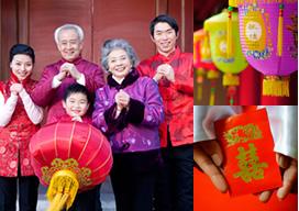 中国の旧正月イメージ