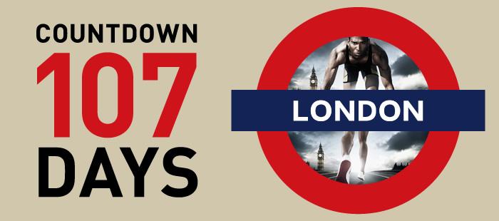 ロンドンオリンピック特集-COUNTDOWN 107 DAYS