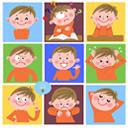 子供の表情\\\\\