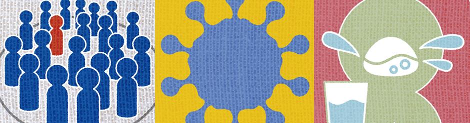 新型コロナウイルス感染症(COVID-19)関連イラスト無料配布